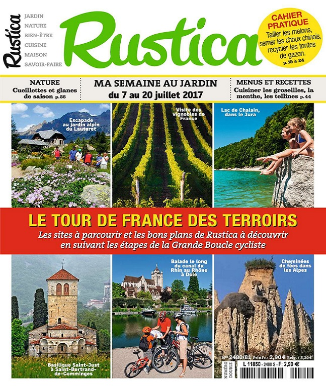 télécharger Rustica N°2480 Du 7 au 20 Juillet 2017
