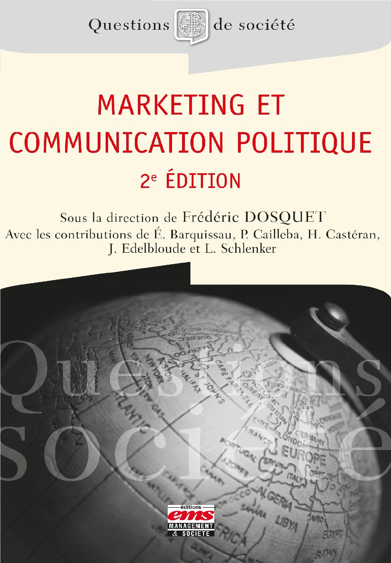 Marketing et communication politique - 2e édition (2017)