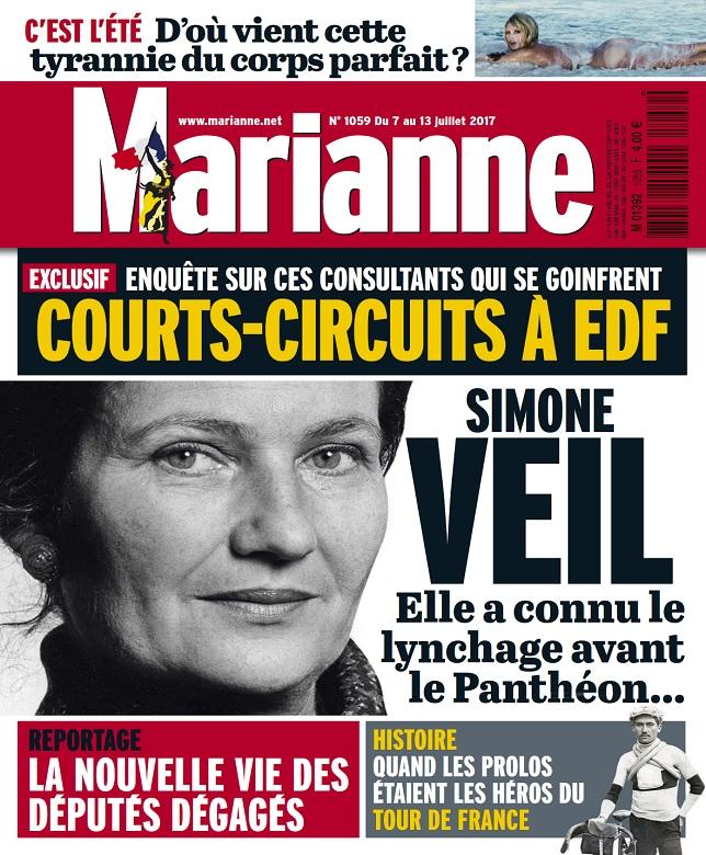 télécharger Marianne N°1059 Du 7 au 13 Juillet 2017