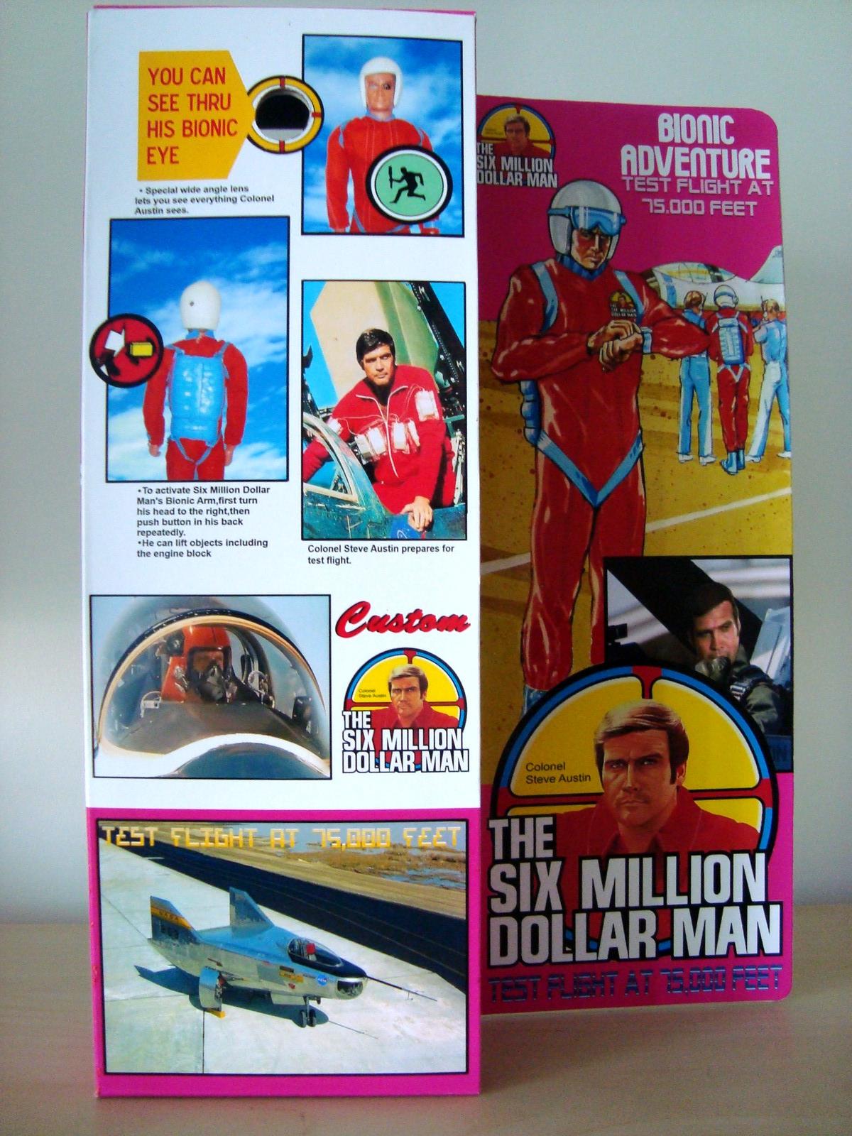 Steve Austin L'homme qui valait 3 milliards - KENNER MECCANO - Page 11 170707071737408004
