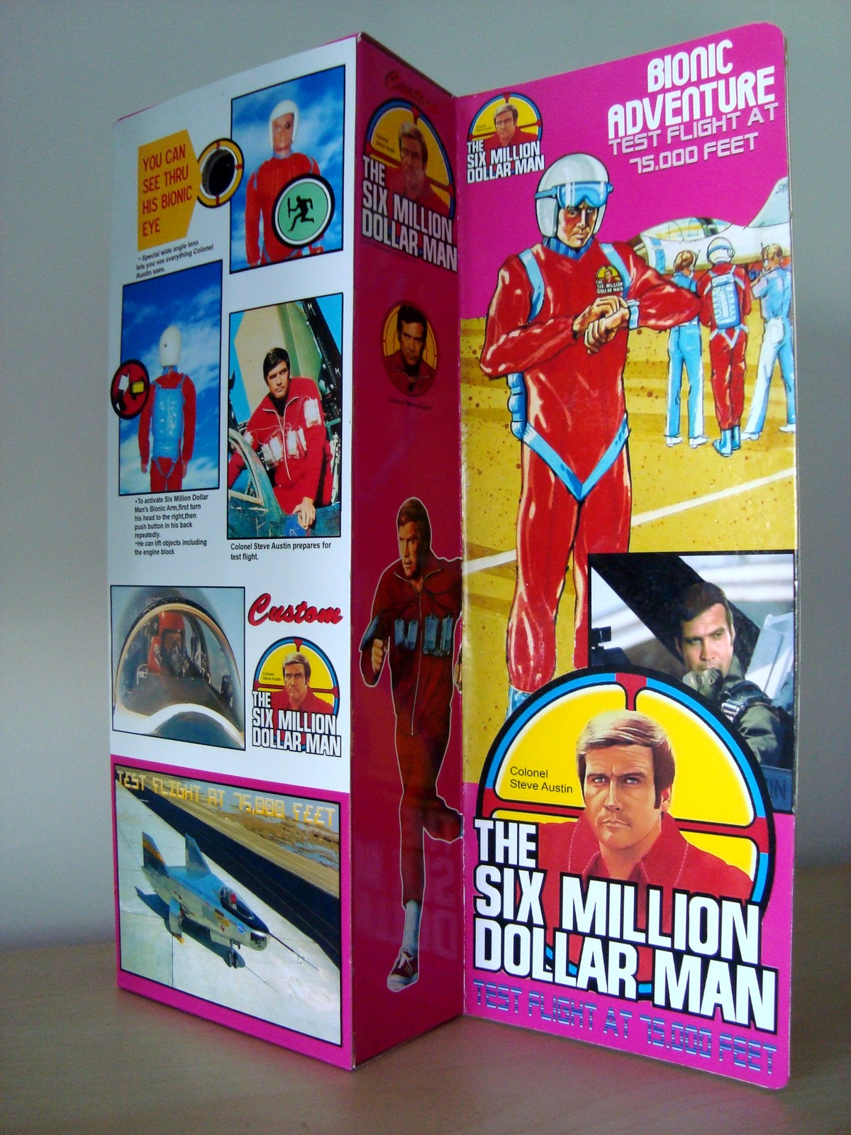 Steve Austin L'homme qui valait 3 milliards - KENNER MECCANO - Page 11 170707071737563415