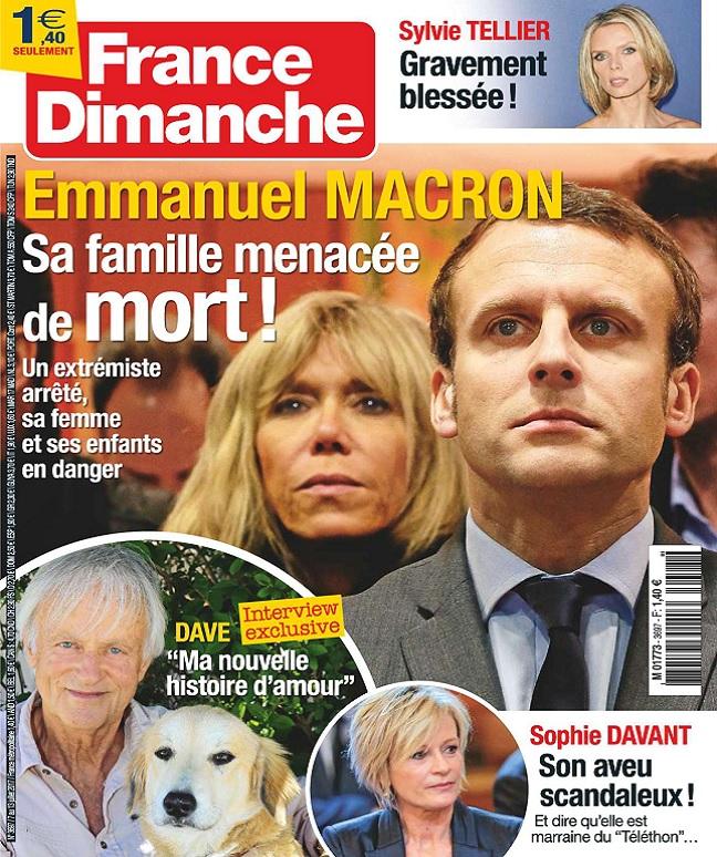 télécharger France Dimanche N°3697 Du 7 au 13 Juillet 2017
