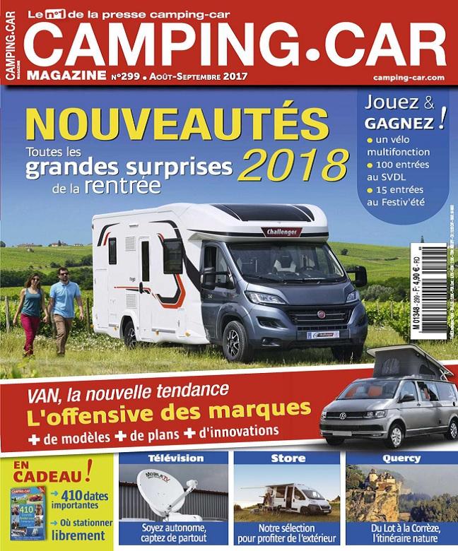 télécharger Camping-Car Magazine N°299 - Août-Septembre 2017