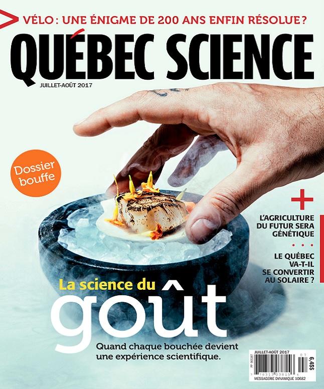 Québec Science - Juillet-Août 2017