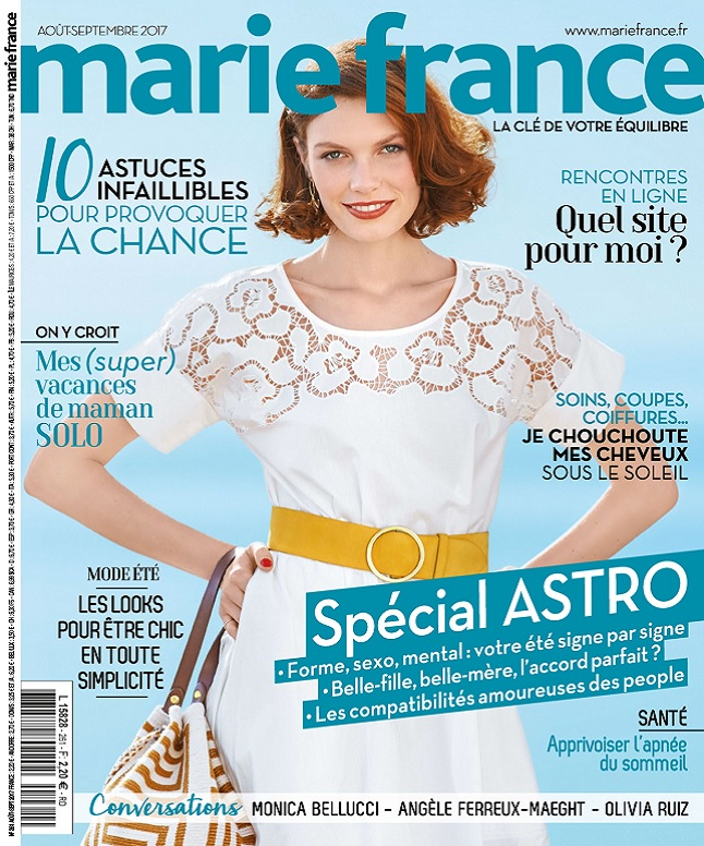 télécharger Marie France N°261 - Août-Septembre 2017