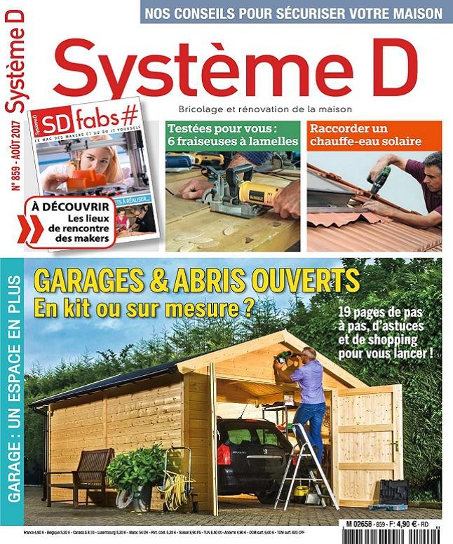 Système D N°859 - Août 2017