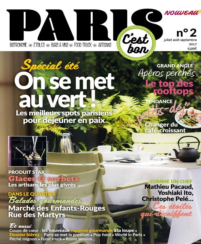 télécharger Paris C'est Bon N°2 - Juillet-Septembre 2017