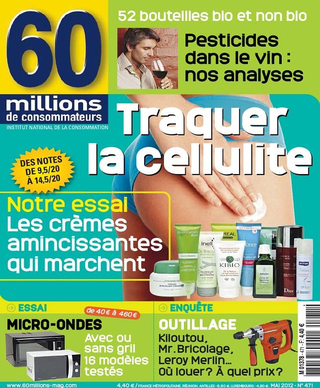 télécharger 60 Millions De Consommateurs N°471 - Traquer La Cellulite