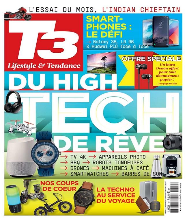 T3 High-Tech Magazine N°18 - Juillet-Août 2017