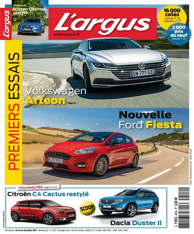 télécharger L'Argus N°4512 Du 13 au 26 Juillet 2017