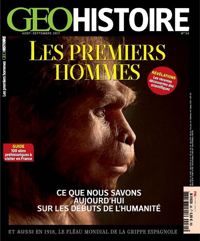 télécharger Geo Histoire N°34 - Août-Septembre 2017