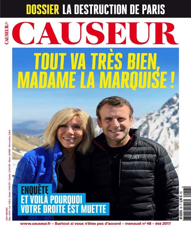 Causeur N°48 - Été 2017