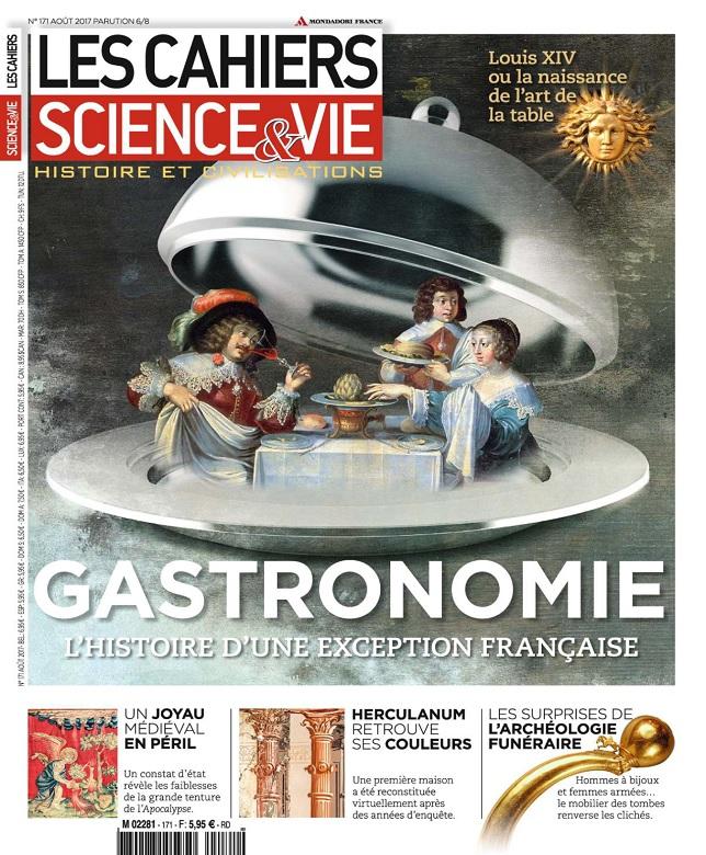 Les Cahiers De Science et Vie N°171 - Août 2017