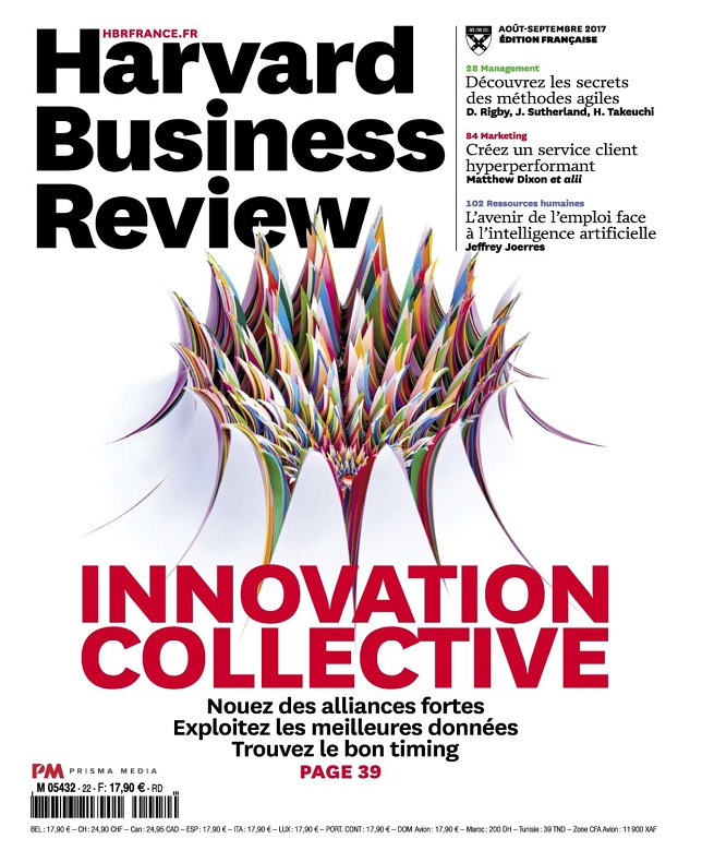 télécharger Harvard Business Review N°22 - Août-Septembre 2017