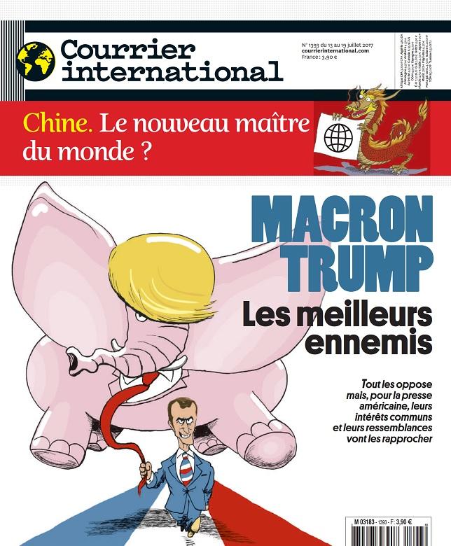 Courrier International N°1393 Du 13 au 19 Juillet 2017