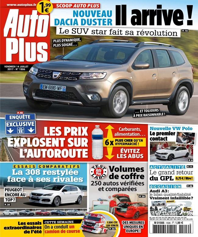 Auto Plus N°1506 Du 14 Juillet 2017