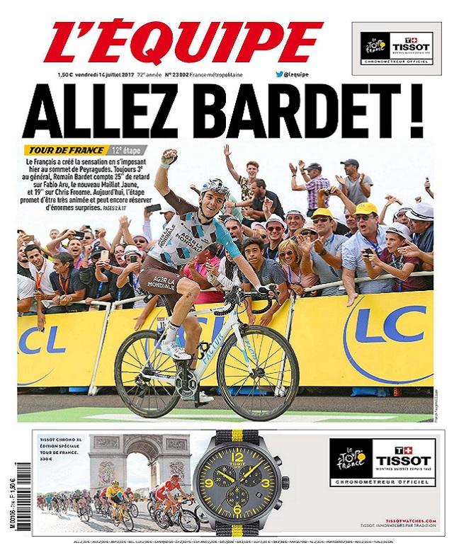 télécharger L'Equipe Du Vendredi 14 Juillet 2017