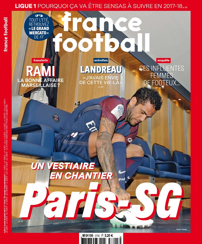 télécharger France Football N°3715 Du 18 Juillet 2017