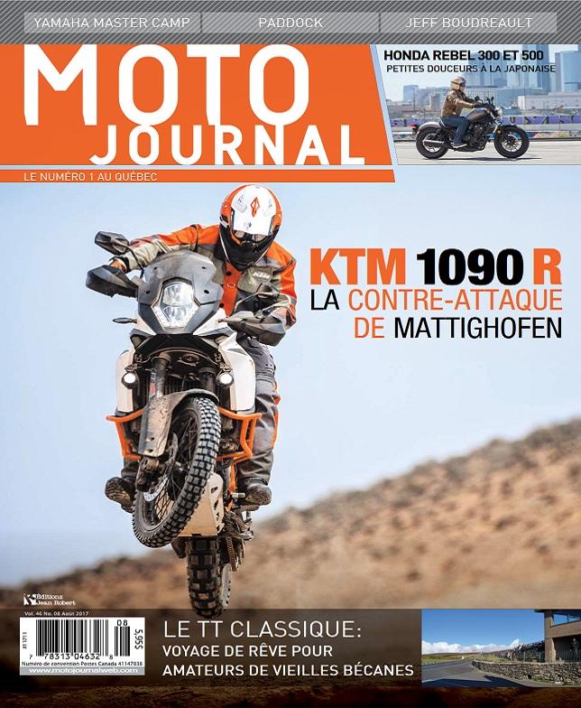 télécharger Moto Journal Québec - Août 2017