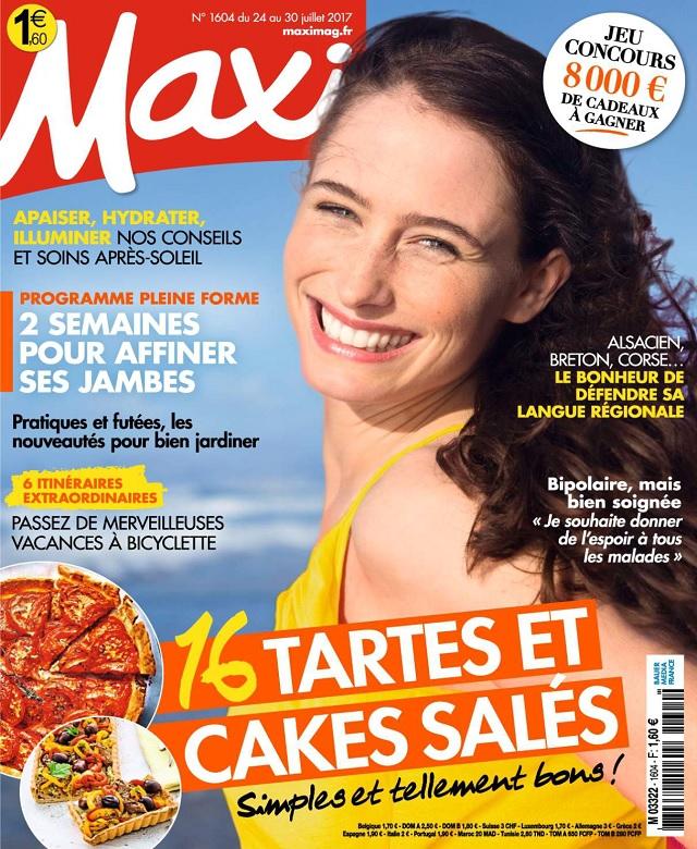 télécharger Maxi N°1604 Du 24 au 30 Juillet 2017