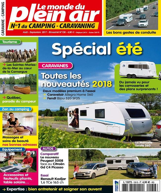 télécharger Le Monde Du Plein-Air N°138 - Août-Septembre 2017