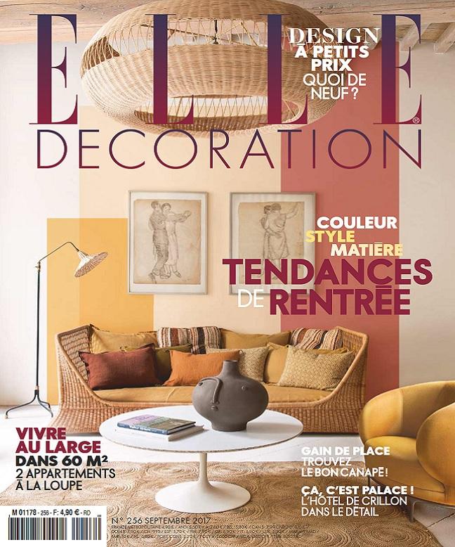 télécharger Elle Décoration N°256 - Septembre 2017