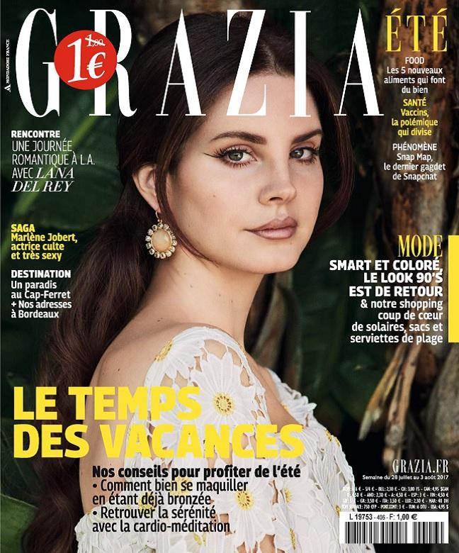 télécharger Grazia N°406 Du 28 Juillet au 3 Août 2017