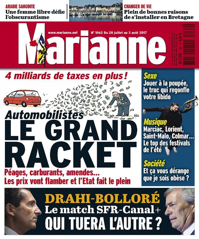 télécharger Marianne N°1062 Du 28 Juillet au 3 Août 2017