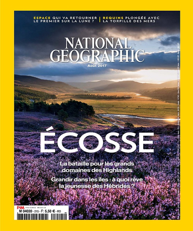 télécharger National Geographic N°215 - Août 2017