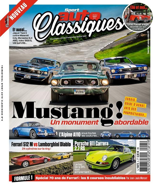 télécharger Sport Auto Classiques N°5 - Août-Octobre 2017