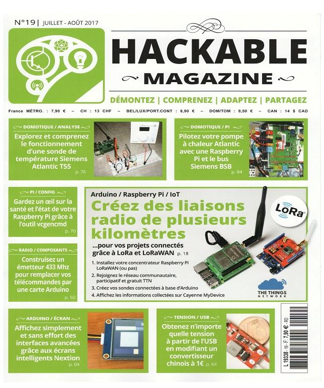 télécharger Hackable N°19 - Juillet-Aout 2017