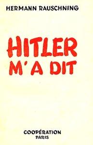 télécharger Rauschning Hermann - Hitler m'a dit