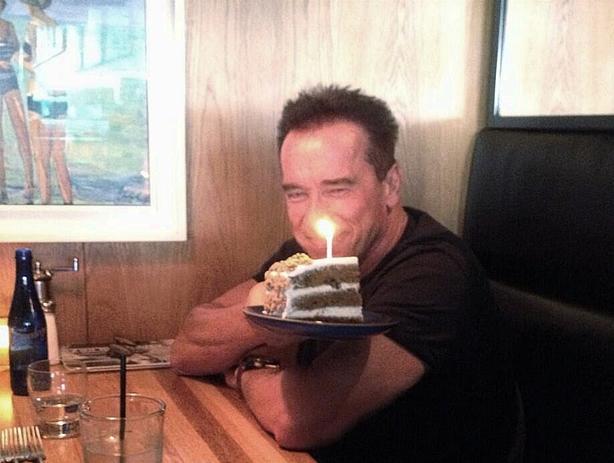 Arnold-Birthday-Cake
