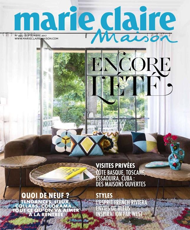 télécharger Marie Claire Maison N°495 - Septembre 2017