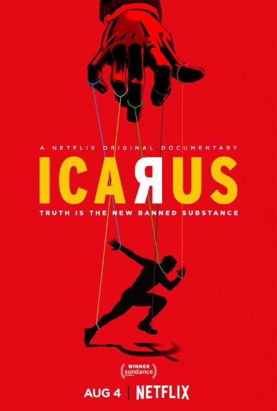 Icarus(2017) poster image