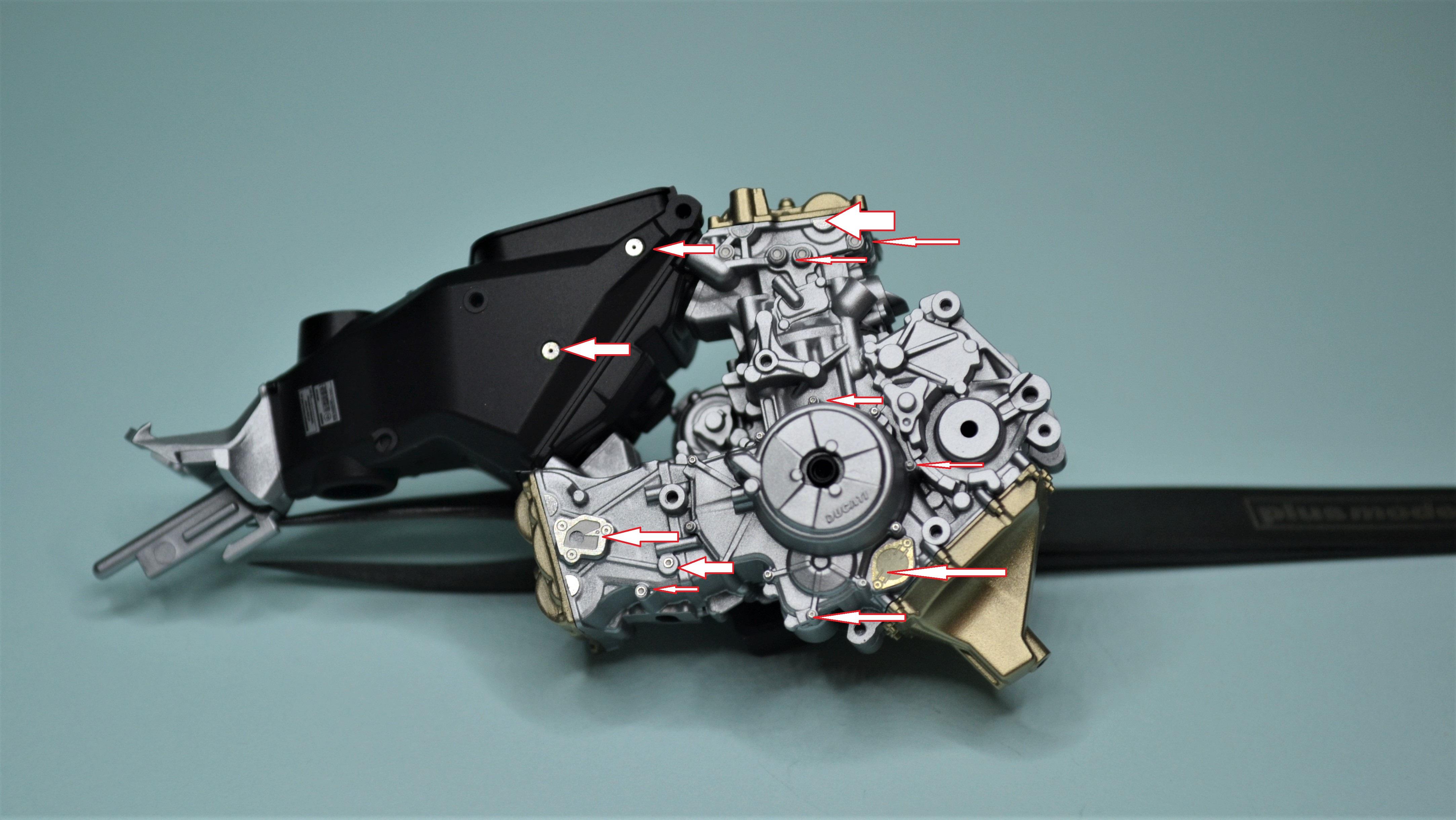 Ducati Panigale 1/12 Tamiya 170804085201196637