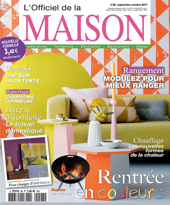 L'Officiel De La Maison N°28 - Septembre-Octobre 2017