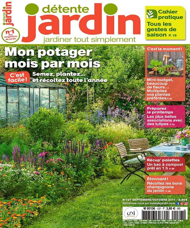 Détente Jardin N°127 - Septembre-Octobre 2017