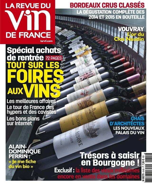télécharger La Revue Du Vin De France N°614 - Septembre 2017