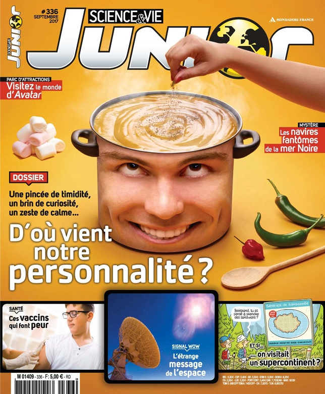 Science et Vie Junior N°336 - Septembre 2017