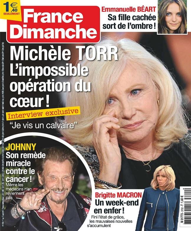 France Dimanche N°3702 Du 11 au 17 Août 2017