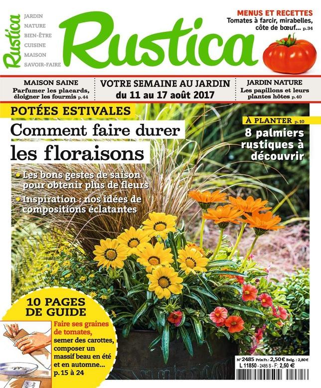 Rustica N°2484 Du 11 au 17 Août 2017