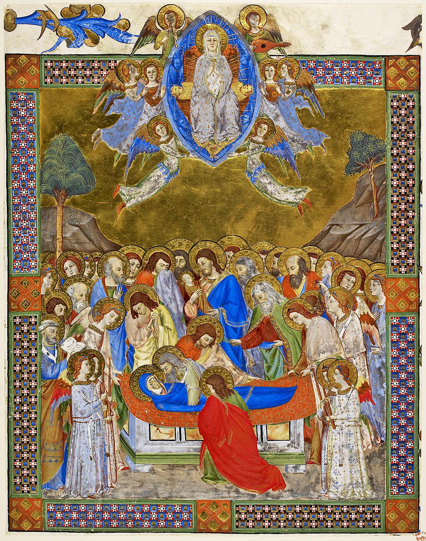 GHERARDUCCI Don Silvestro dei, Assomption, c. 1370 (2)