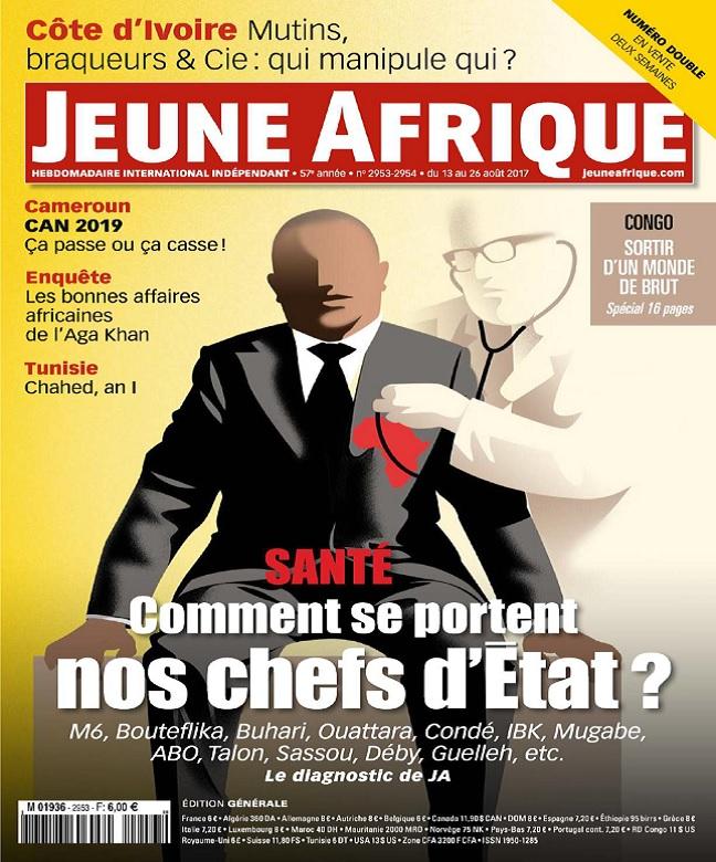 Jeune Afrique N°2953 Du 13 au 26 Août 2017