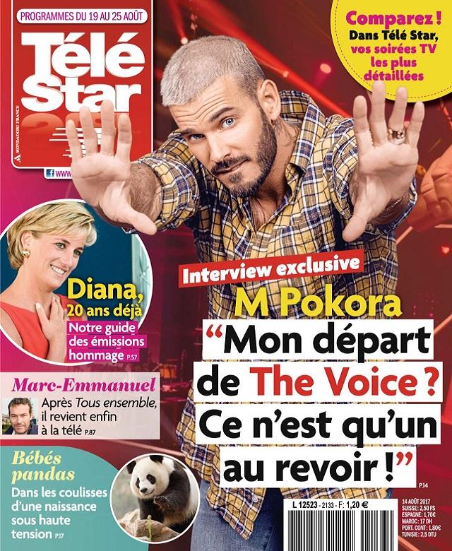 Télé Star N°2133 Du 19 au 25 Août 2017