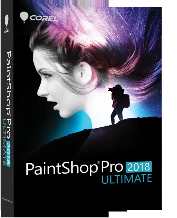 Poster for Corel PaintShop Pro 2018 Ultimate v20.0.0.132