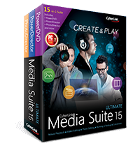 Poster for CyberLink Media Suite 15 Ultimate v15.00.051704