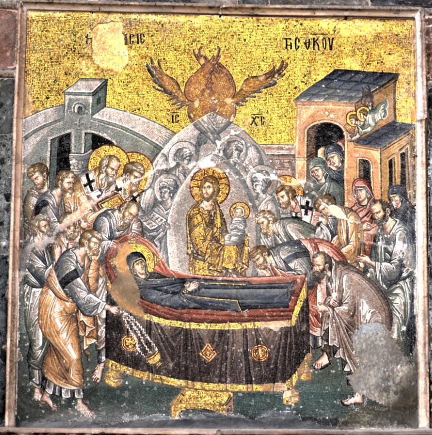 Dormition, Saint-Sauveur-in-Chrora, Constantinople, XIVe s.
