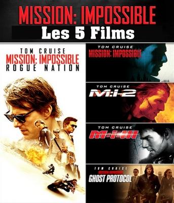 Mission impossible l'intégrale des 5 films