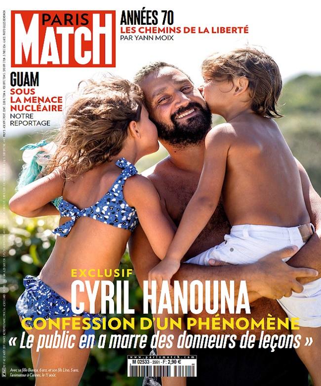 Paris Match N°3561 Du 17 au 23 Août 2017